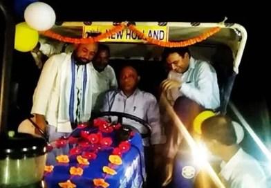 Assam:  Tractors distributed under CMSGUY in Hailakandi