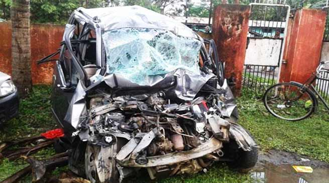 Assam: 5 killed in truck-car collision in Nagaon