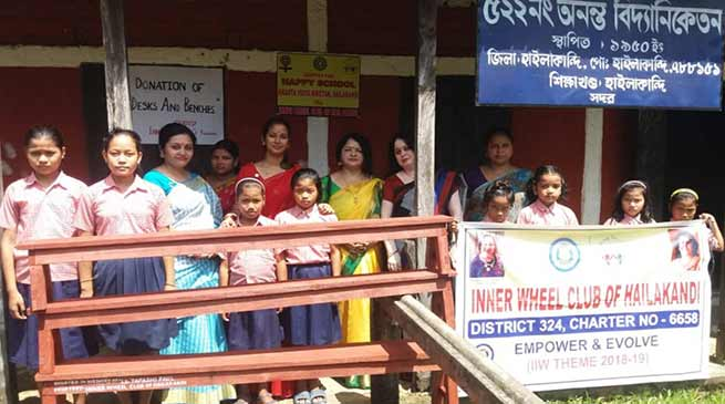 Assam: Inner Wheel Club adopts Annanta Vidya Niketan under Happy School project
