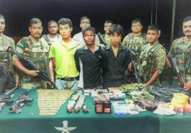 Manipur: 3 NSCN( K ) Cadres Held With Arms, Ammunition