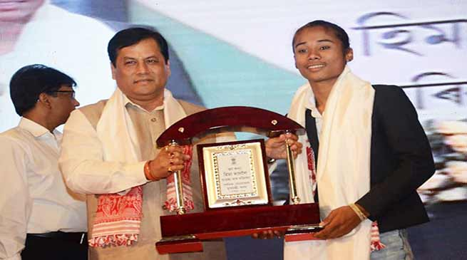 Assam: Sonowal Makes Hima Das Sports Ambassador, Offers Job