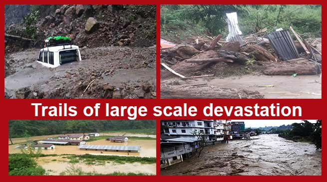 Arunachal: 6 feared dead after flash flood, landslide in Itanagar