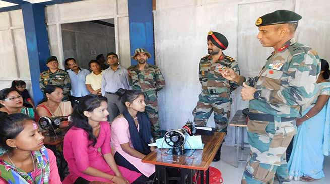 Assam: Army's sponsor Multi skill development centre inaugurated at Pengree