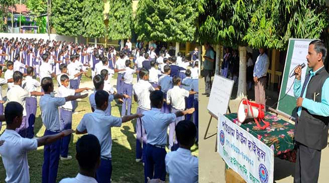Assam: Constitution Day observed in Hailakandi