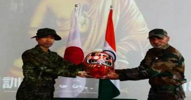 "Mizoram: Exercise ""Dharma Guardain-2018"" between Indian & Japanese Armies begins"