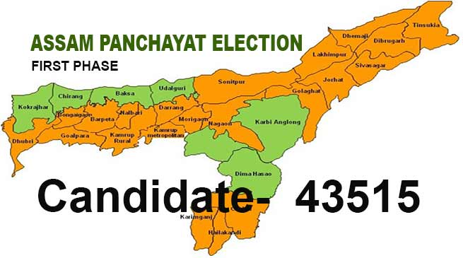 Assam panchayat polls: polling for First phase begins- LIVE UPDATE
