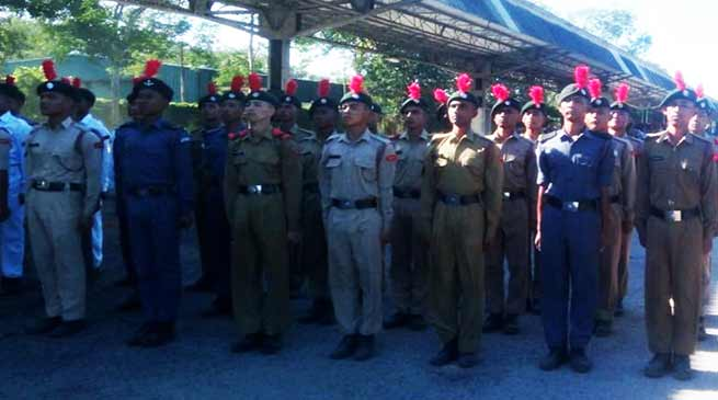 Assam: Pre Republic Day training Camp for NE NCC Cadets