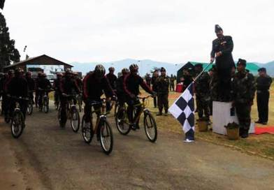 """Tri-Services Cycling and Trekking Expedition for """"Green Sikkim, Clean Sikkim"""""""