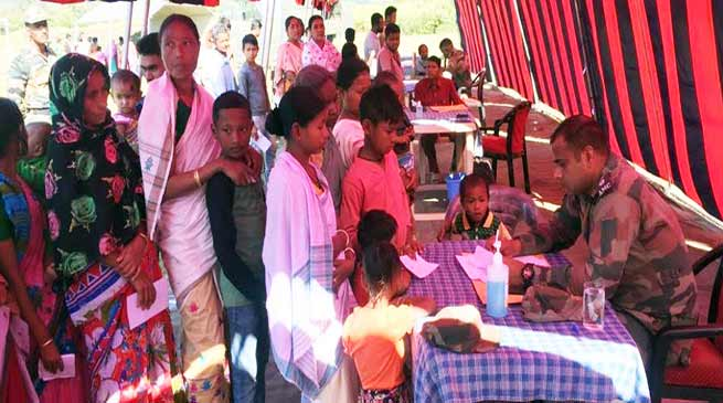 Assam: Army organises Medical and Blood Donation camp at Daranga Mela