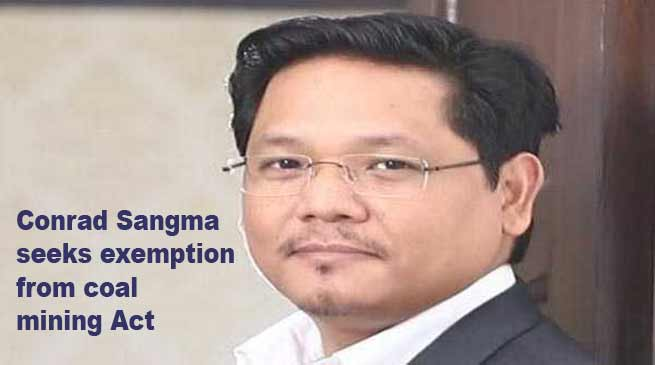 Meghalaya: Conrad Sangma seeks exemption from coal mining Act