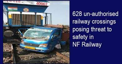 Assam: 628 un-authorised railway crossings posing threat to safety in NF Railway