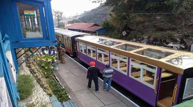 Assam: VISTADOME coaches in tourist routes of NF Railway