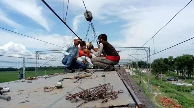 Assam: Railway Electrification work gaining momentum