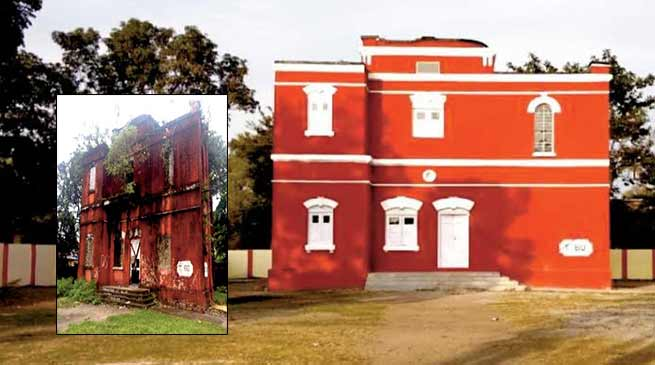 Arunachal: Railway Heritage Building facelift in Siliguri
