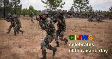 Mizoram: counter insurgency & jungle warfare school celebrates 50th raising day