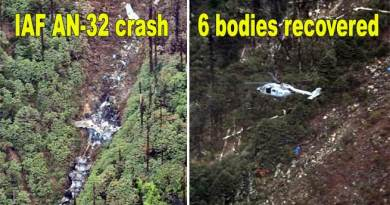 IAF AN-32 crash: 6 bodies recovered from site in Arunachal Pradesh
