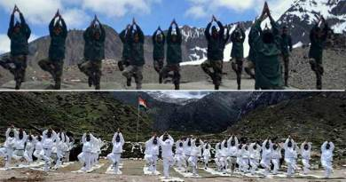 International Yoga Day: Indian and Chinese Army jointly celebrates along international border