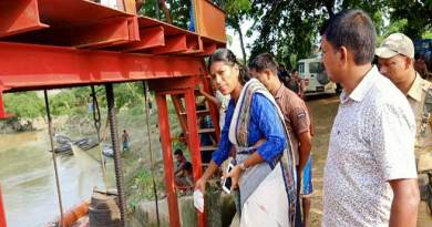 Assam: DC Hailakandi inspects damaged infrastructure caused by floods