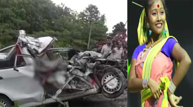 Assam: Four person including Singer Sushmita Roy killed in car-truck collision