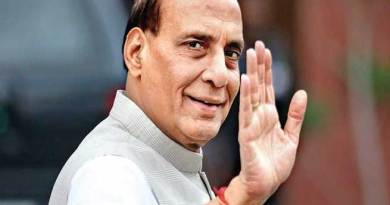 Defence Minister Rajnath Singh to visit Japan and Republic of Korea