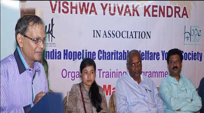 Meghalaya:  VYK training on NGO management