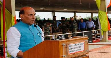 Rajnath Singh honours winners of 5th International Army Scout Masters Competition 2019