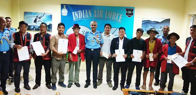 IAF awarded civilians helped in search of ill-fated AN-32 aircraft in Arunachal Pradesh