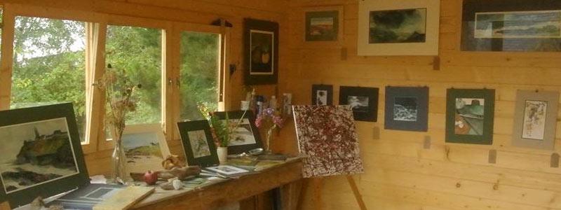 artist's image in testimonial