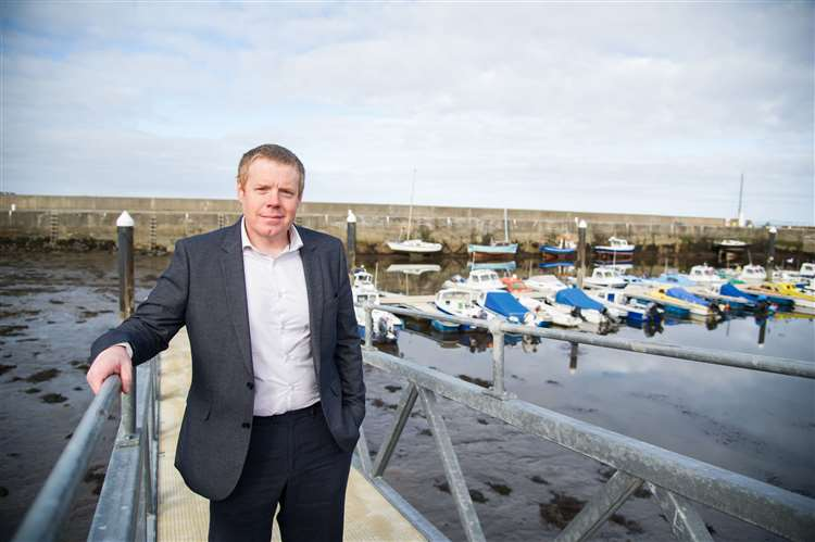Moray Conservative candidate Tim Eagle. Picture: Becky Saunderson