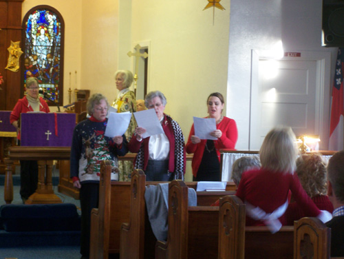 Last Advent concert at St John's Episcopal-Luthern Church