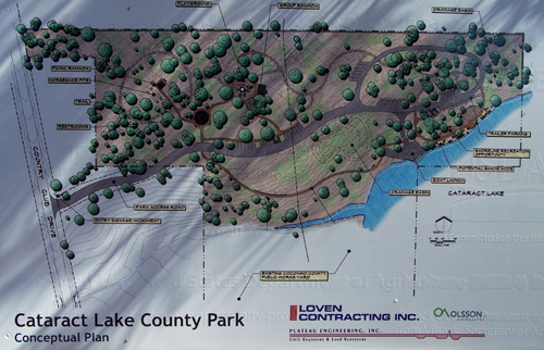 According to the concept plan, the park was scheduled to be completed in December of 2012