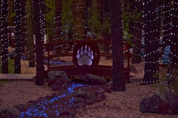 Awesome walk thru lights at night low res