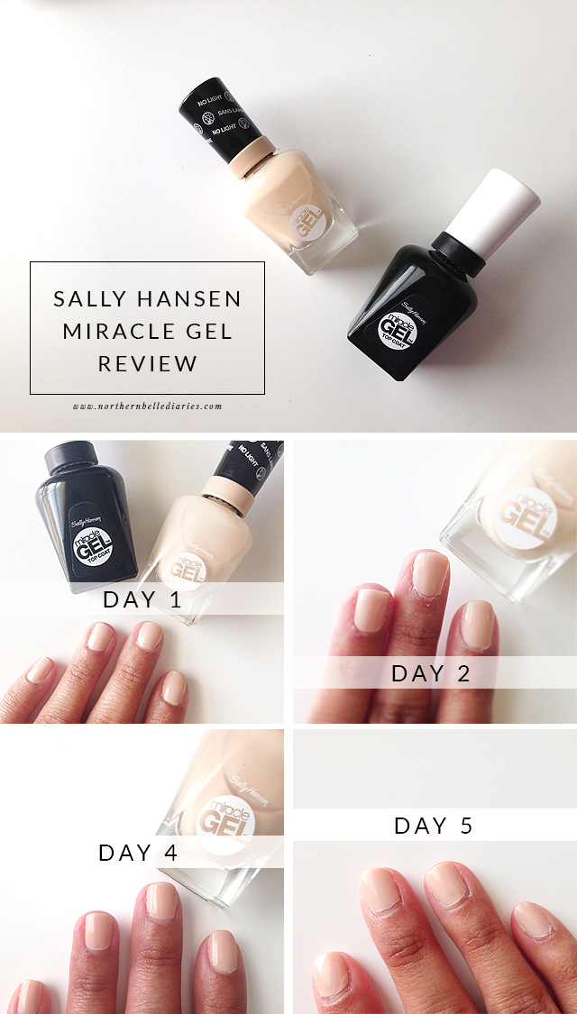 No Light Gel Nail It In 2 Steps With Sally Hansen Miracle Entry