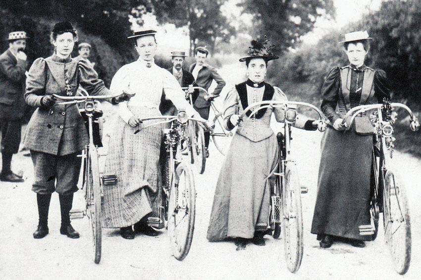 Why Bicycling Was Racy in the 1800s