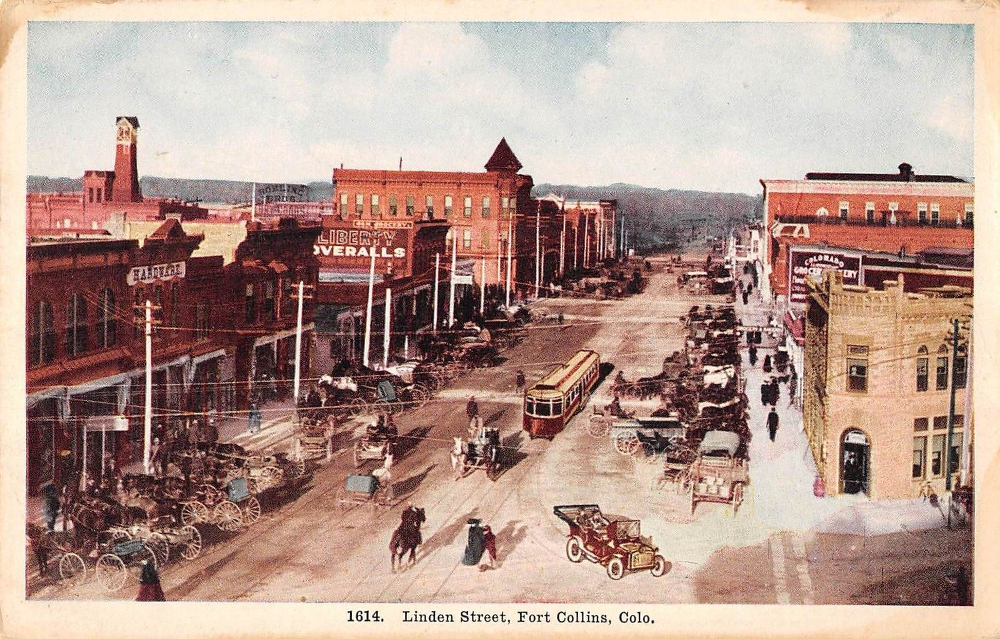 Linden Street… Before the Square Was There