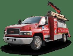 fully stocked door dock service truck