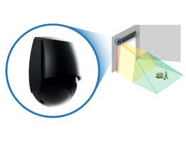 The industrial door sensor using laser-based technology