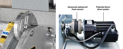 AR-20K Patented Direct Drive System With Exclusive Hook Position Sensor