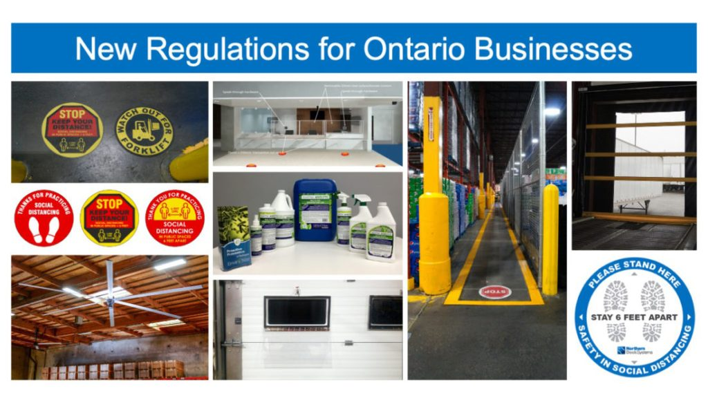 New Rules for Businesses Reopening in Ontario During COVID-19