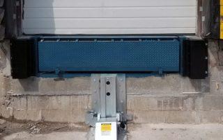 MTL mechanical vehicle restraint and heavy-duty hydraulic dock leveler