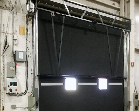 Distribution Center – Springless High Cycle Rubber Door
