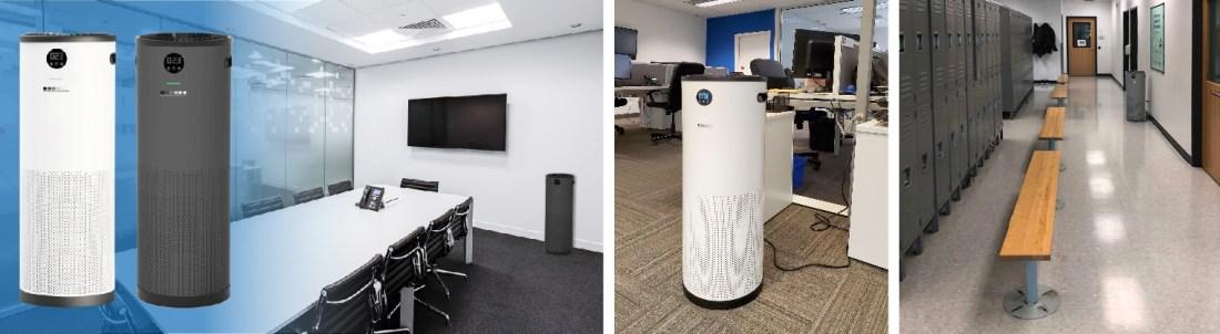 JADE UV air purifier office boardroom changeroom