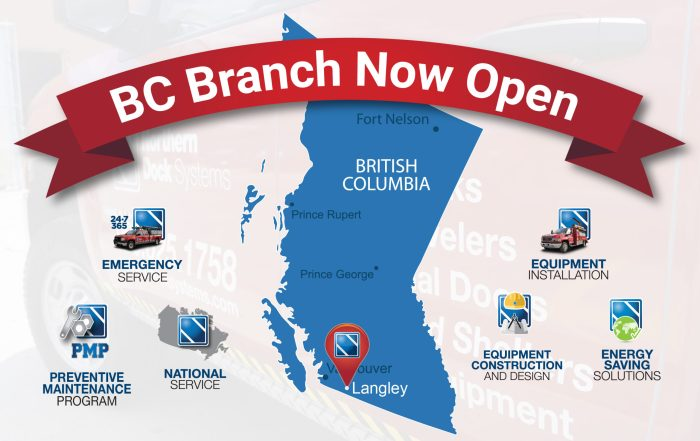 Langley BC branch now open