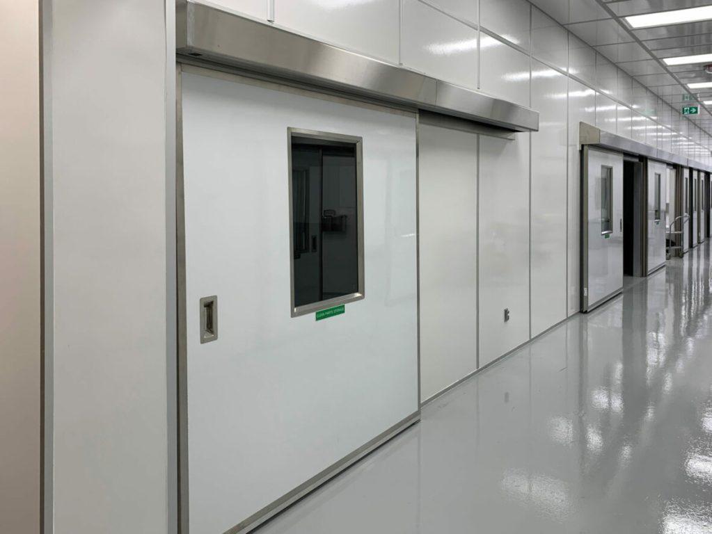 Pharmaceutical Clean Room Sliding Fiberglass Doors