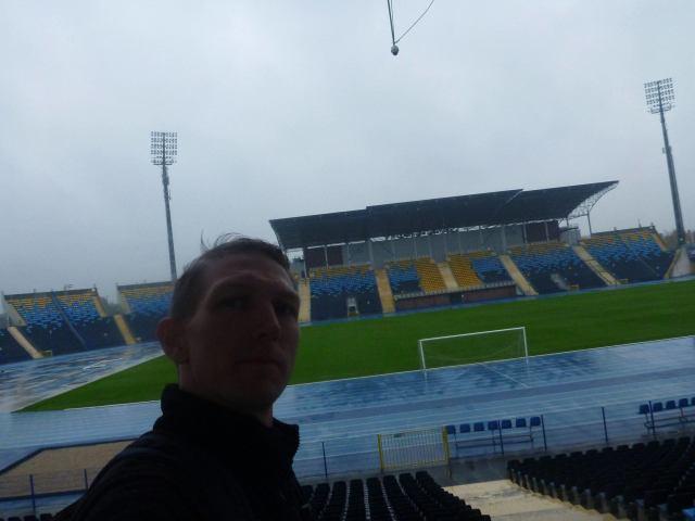 Hotel Zawisza is next to the football stadium