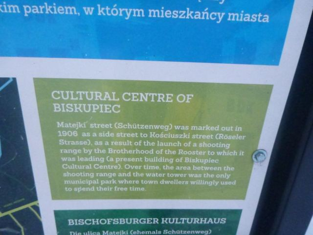 Biskupiec Cultural Centre, Zatorze