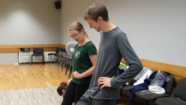 Quirky Encounters: Irish Dancing in Gdańsk, Poland with Animus Saltandi and Dziewczyna w żółtych Spodniach