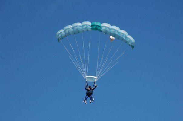 Sky Diving in New Zealand in 2007