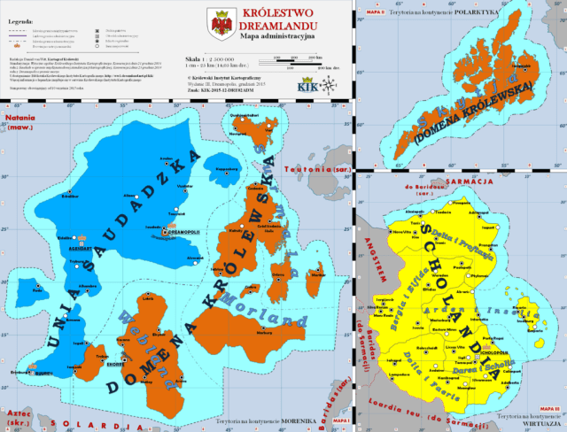 Where is Królestwa Dreamlandu?