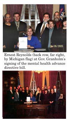 Reynolds Witnesses Mental Health Bill Signing